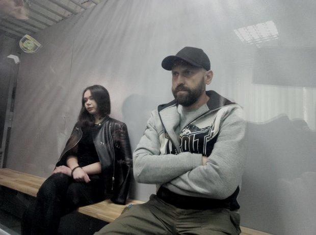 Елена Зайцева и Геннадий Дронов, обвиняемые по делу ДТП на Сумской