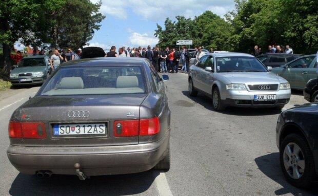Першого євробляхера оштрафували: скільки виклав водій за нерозмитнене авто