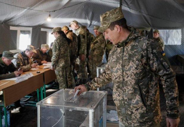 Парламентские выборы 2019: как голосовали украинские защитники, кадры с передовой