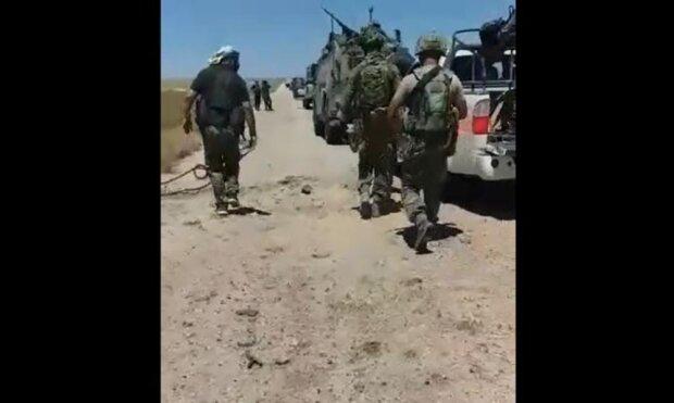 российские военные в Сирии, скриншот с видео