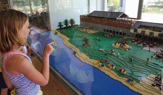 Цілі палаци та замки побудували із контруктора Lego (фото)