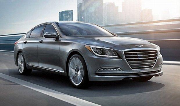 Новый Hyundai Genesis 2015 побил рекорд по предзаказам (фото)