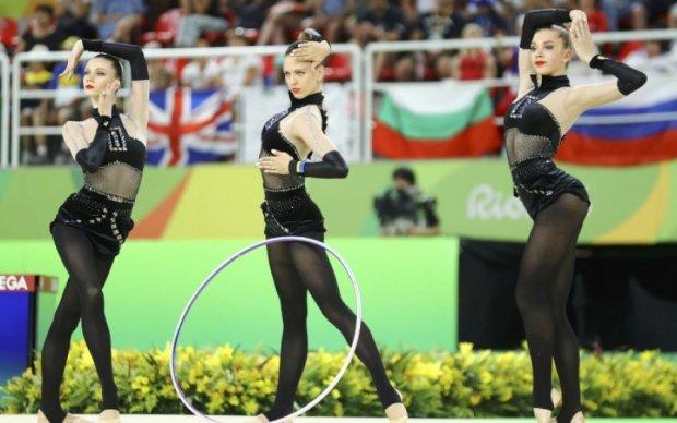 Украинские гимнастки завоевали бронзу этапа Гран-при