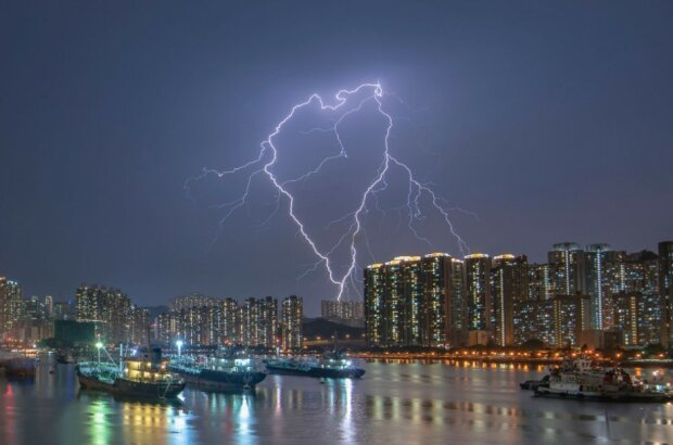 «Серцебиття». Рамблер-канал, Гонконг Фото: Chan Kam Wing/via WMO