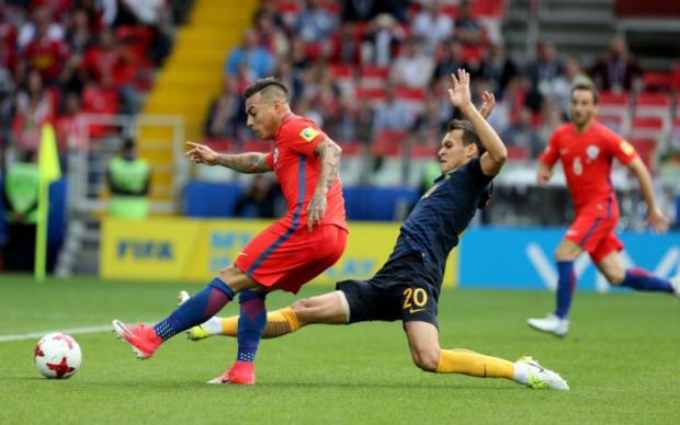 Чили - Австралия 1:1 Видео голов и обзор матча