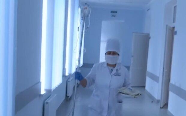 Українські лікарні, скріншот: YouTube