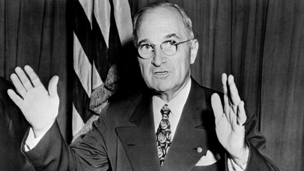 Гарри Трумэн - архивное фото