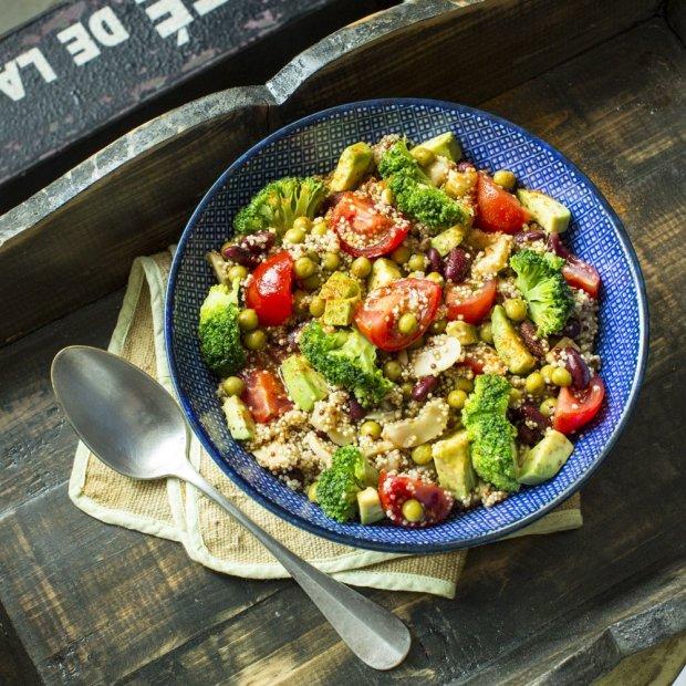 Рецепт полезнейшего энергетического салата: придется по вкусу абсолютно всем