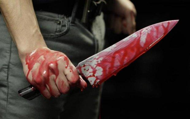 Криваве потрійне вбивство у Києві: опубліковано відео з місця події