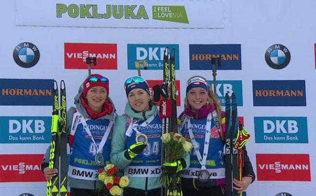 Норвежець Бо і словацькі біатлоністки тріумфували у ...