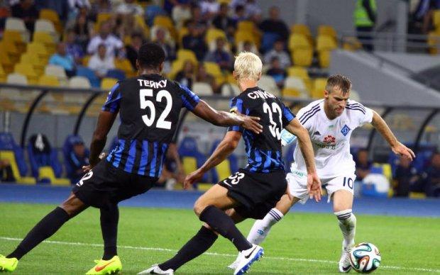 Динамо – Чорноморець 2:1 Відео голів та огляд матчу