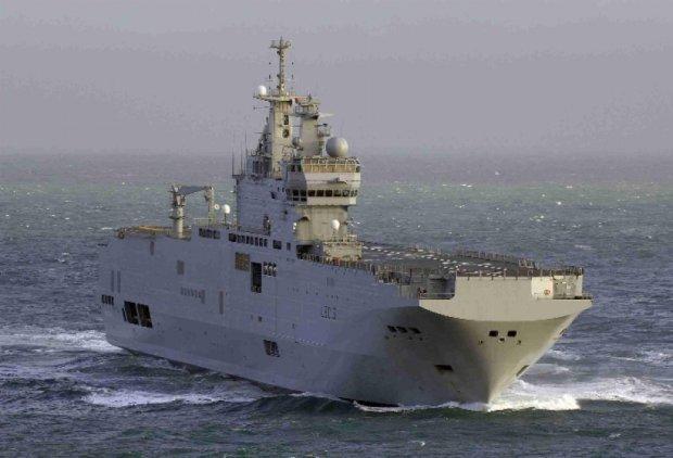 """Французькі військові запропонували затопити """"Містралі"""""""