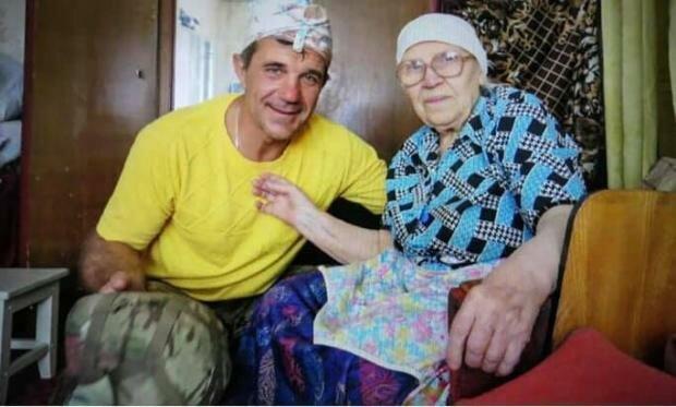 90-річна бабуся врятувала двох українськиї воїнів, фото Reporters