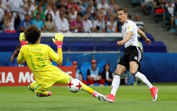 Кубок Конфедераций: Германия разгромила Мексику в полуфинале