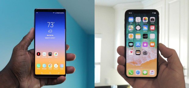 iPhone XS Max vs Galaxy Note 9: кто круче
