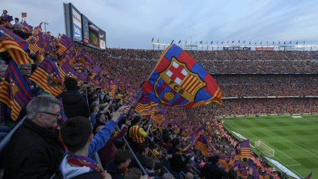 Фаны определили лучший гол Барселоны в истории: видео
