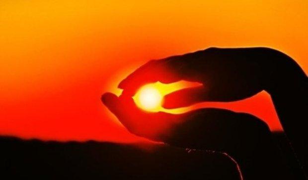 В сети показали удивительный закат солнца