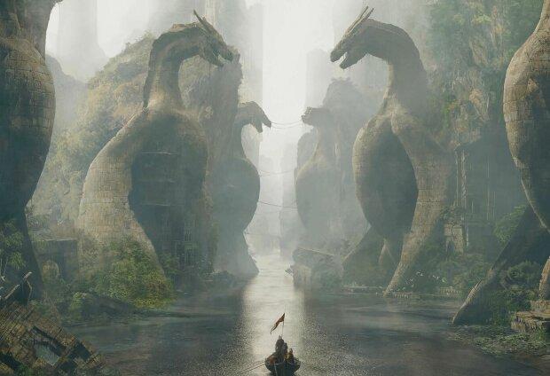 Гра престолів, арт, скріншот: YouTube