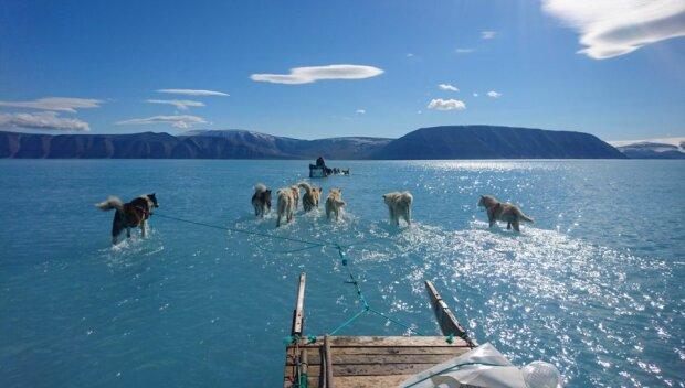 У сім разів швидше: прискорене танення Гренландії стрімко наближає світ до глобальної катастрофи