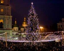 Новый год в Киеве, фото: Вечерний Киев