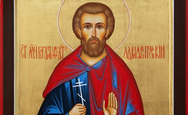 Святой Феодот, фото: Крестильное