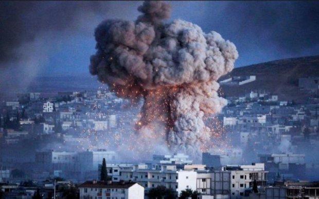 Момент запуску ракет по Сирії потрапив на відео