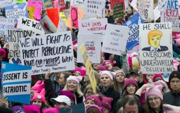 Против Трампа: звезды кино прошли маршем в США