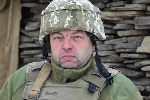 """Микола Войтко з позивним """"Колобок"""", фото Facebook ООС"""