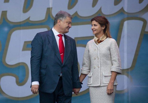 Порошенко с женой поздравили Луценко с Днем рождения
