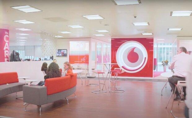 Vodafone, скриншот из видео
