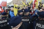 Протесты в Польше, скриншот: YouTube