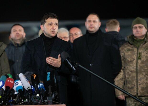 Обмен пленными, фото: Сайт Президента