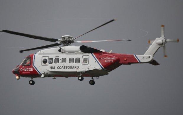 Над Ирландским морем пропал вертолет с пятью людьми