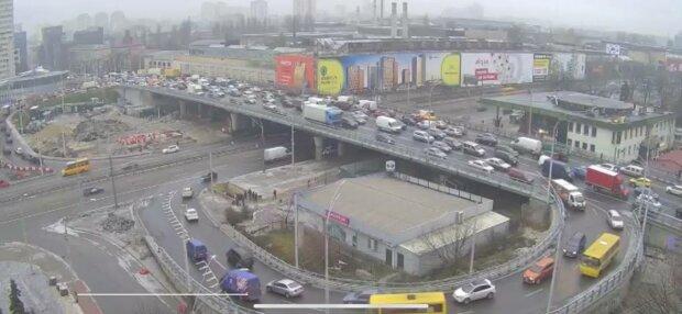 Шулявский мост, фото: скриншот из видео