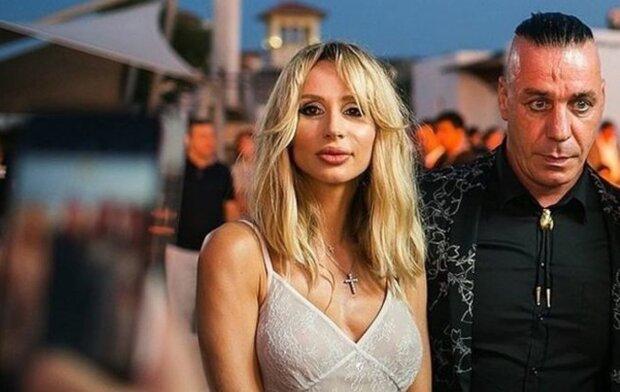 Светлана Лобода и Тилль Линдеманн, фото из соцсетей