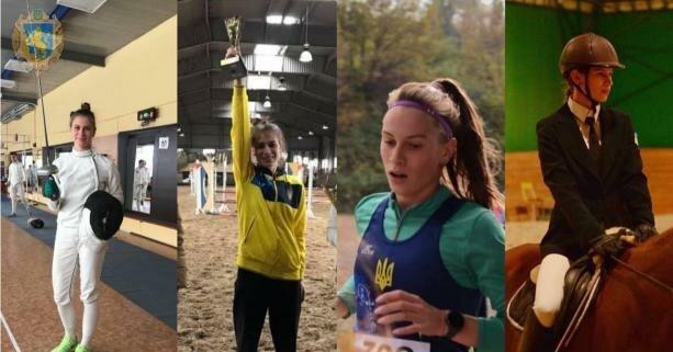 Львовянка стала победительницей национальных соревнований по современному пятиборью