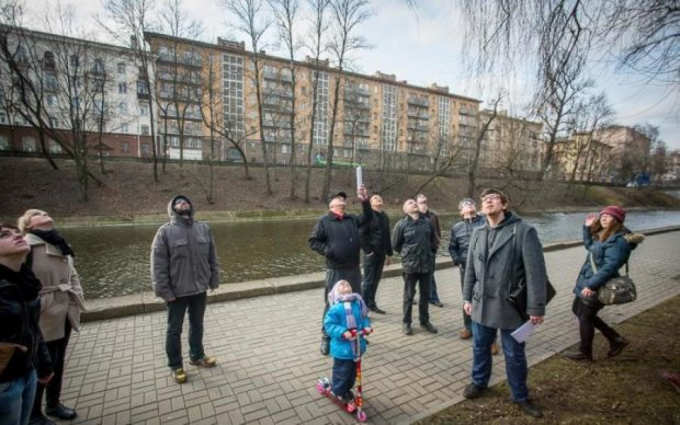 Подарунки з неба звалились на окупований Донецьк
