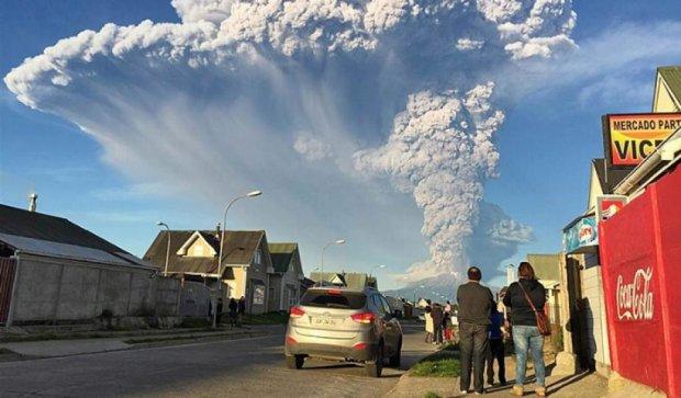 В Чили проснулся самый опасный вулкан