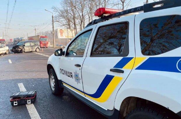 ДТП, фото: Facebook Полиция Ивано-Франковской области