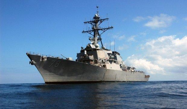 Американський есмінець потрапив під ракетний обстріл