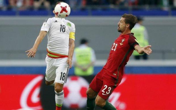 Кубок Конфедерацій: Португалія здолала Мексику і взяла бронзу