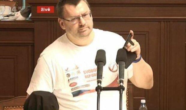 Любомир Вольни, скріншот: YouTube