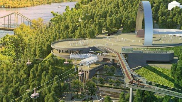 """Київ звинуватили в плагіаті мосту на Дружби народів, """"злизали"""" весь проект"""