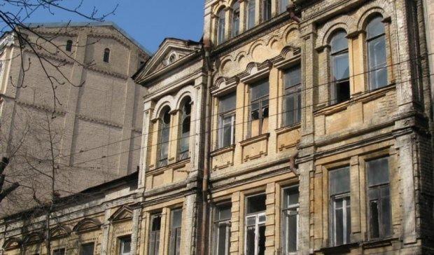 В центрі Києва горіла пам'ятка архітектури
