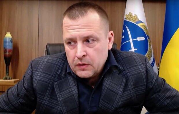 Борис Филатов, скриншот из видео