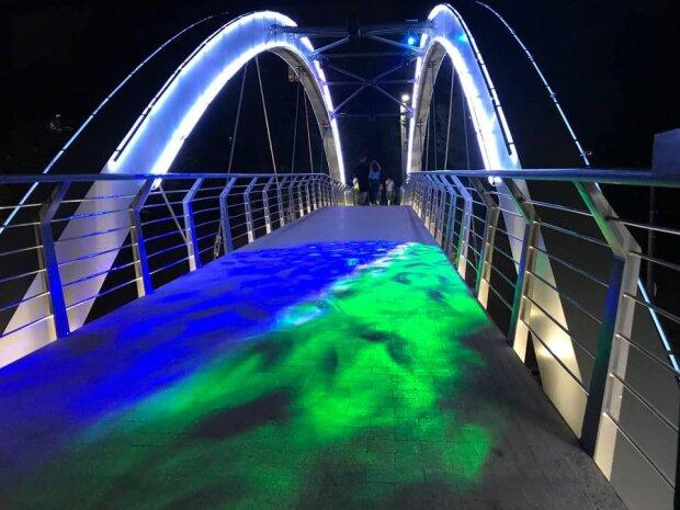 Мост в Харькове, фото: Facebook