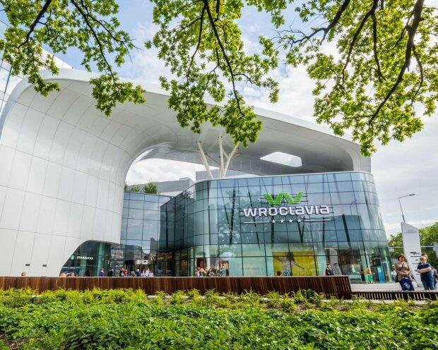 Торговый центр на вокзале в Польше, фото: Facebook