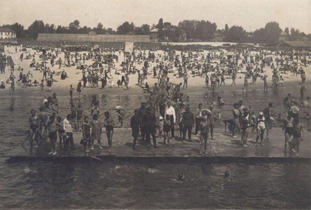 как выглядели киевские пляжи столетие назад