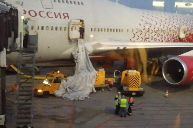 Рейс Москва-Анталия, скриншот: YouTube