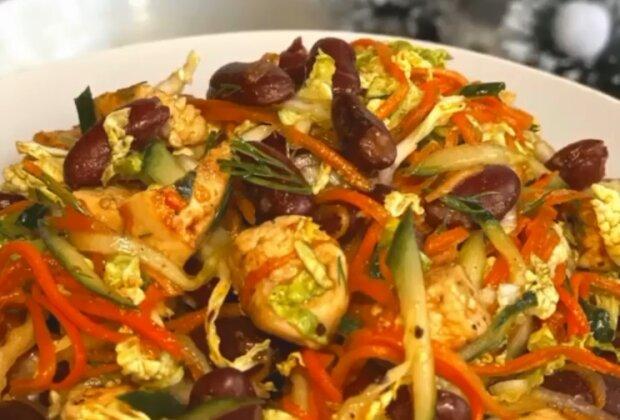 Салат з квасолею для свят і здорового перекусу: простий рецепт у скарбничку кожній господині